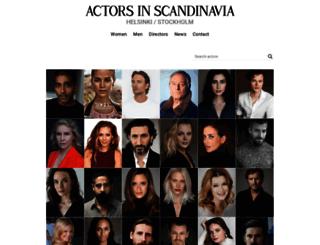actorsinscandinavia.com screenshot