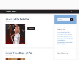 actressmania.com screenshot
