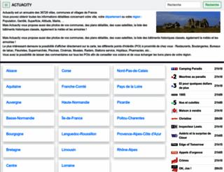 actuacity.com screenshot