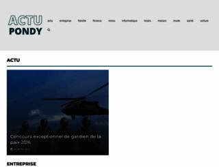 actupondy.com screenshot