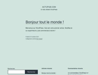 actupub.com screenshot