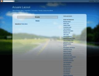acuarelacool.blogspot.com screenshot