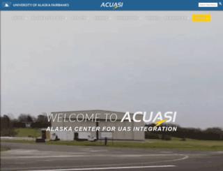 acuasi.alaska.edu screenshot