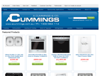 acummings.com.au screenshot