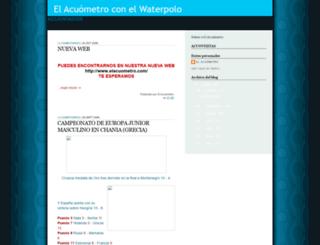 acuometro.blogspot.com screenshot