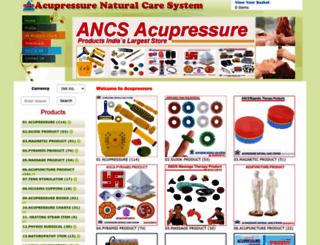 acupressures.com screenshot