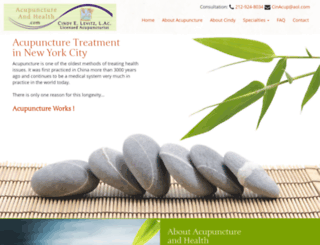 acupunctureandhealth.com screenshot