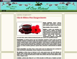 acuranatural.blogspot.com.br screenshot