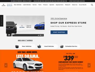acuraofberlin.com screenshot