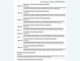 acutemarketreports.free-blog.net screenshot