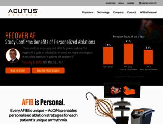 acutusmedical.com screenshot