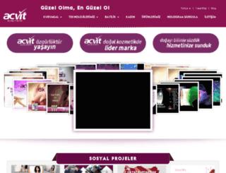 acvitkozmetikshop.com screenshot