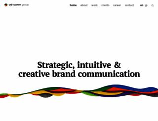 ad-comm.com screenshot
