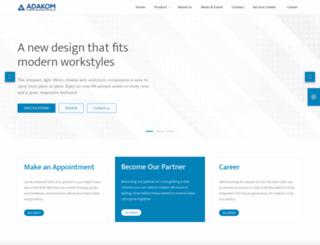 ada-kom.com screenshot
