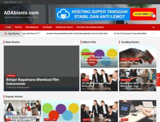 adabisnis.com screenshot