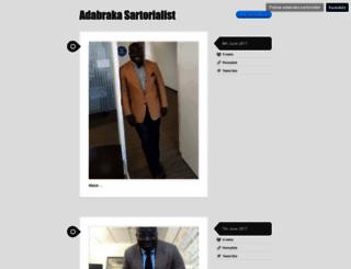 adabraka-sartorialist.tumblr.com screenshot