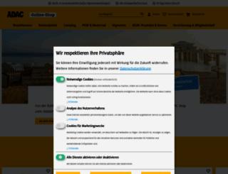 adac-shop.de screenshot