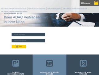 adac-vertragsanwalt.de screenshot