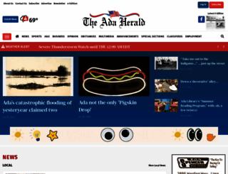 adaherald.com screenshot