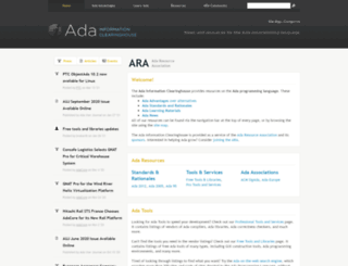 adaic.org screenshot