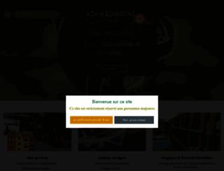 adam-boissons.fr screenshot