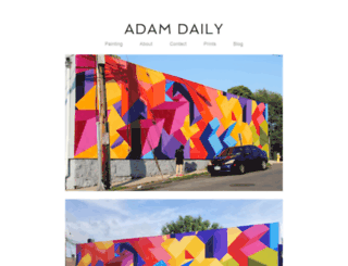 adam-daily.com screenshot