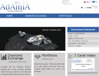 adamia.biz screenshot