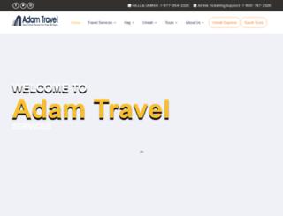adamtravel.com screenshot