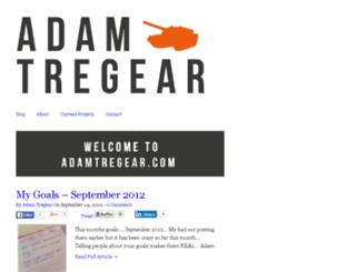 adamtregear.com screenshot