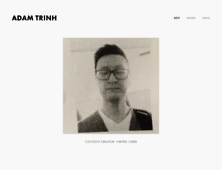 adamtrinh.com screenshot