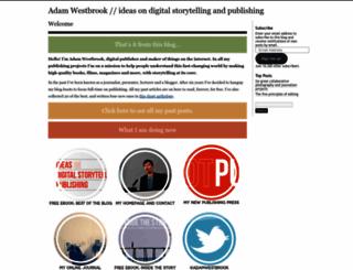 adamwestbrook.wordpress.com screenshot