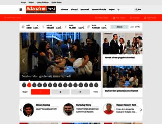 adananinsesi.com screenshot