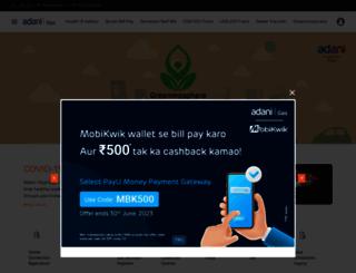adanigas.com screenshot
