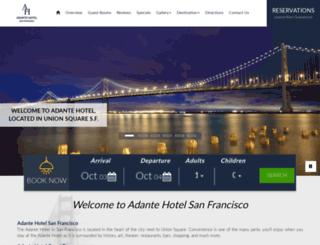 adantehotel.com screenshot