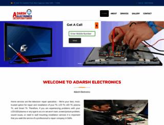 adarshelectronics.com screenshot