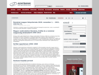 adatbank.ro screenshot