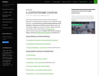 adatlabor.hu screenshot