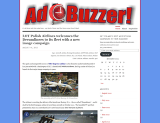 adbuzzer.wordpress.com screenshot