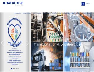 adc.datalogic.com screenshot
