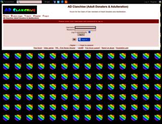 adclanchise.forumotion.co.uk screenshot