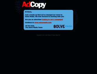 adcopy.com screenshot