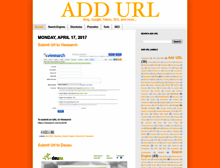 add-url.fr screenshot