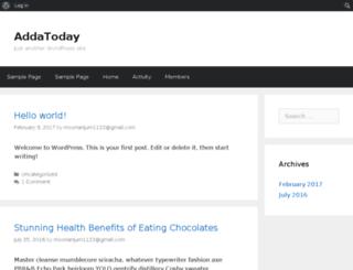 addatoday.net screenshot