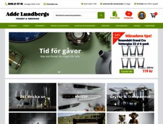 addelundbergs.se screenshot