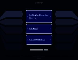 adder.tv screenshot