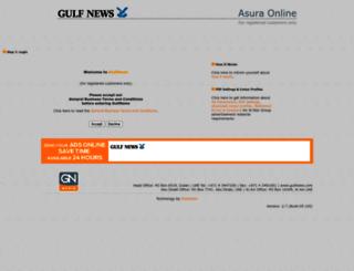 addesk.gulfnews.com screenshot