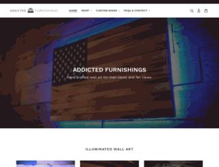 addictedfurnishings.com screenshot