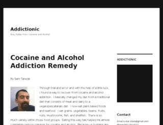 addictionic.com screenshot