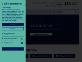 addictionjournal.org screenshot