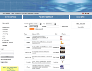 addlistnew.com screenshot